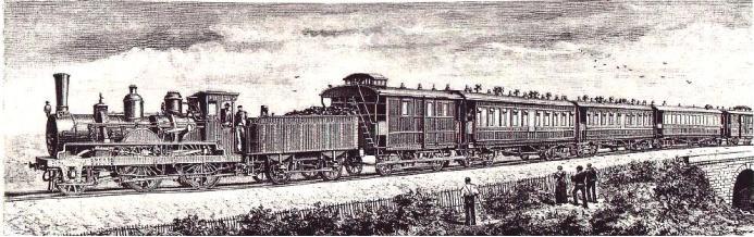 1883 nahm der Orientexpress seinen Betrieb auf, die Zugverbindung Paris – Wien – Konstantinopel.