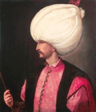 Sulṭān Süleyman I., gemalt von Titian