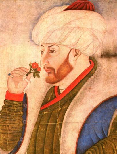 Sulṭān Mehmed II (Miniatur von Nakkaş Sinan Bey)