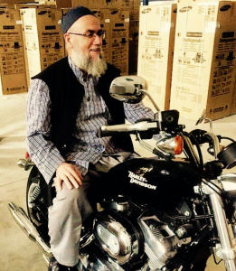 Scheich Muhammad - Motorrad