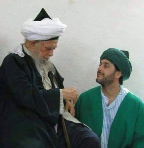 Scheich Nazim and his son Bahauddin