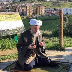 Shaykh Muḥammad beim Gebet
